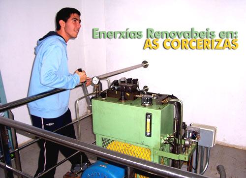 Enerxías renovabeis en AS CORCERIZAS