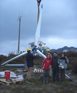 Instalación Aeroxerador Zefir 6