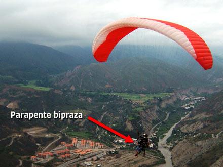 Parapente Bipraza