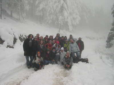 Curso de interpretación do patrimonio na neve